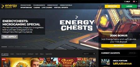 Energy Casino Bewertung