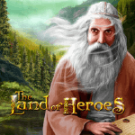 The Land of Heroes Logo