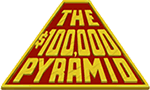 The $100.000 Pyramid Logo